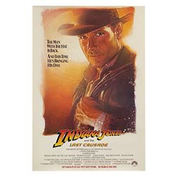 Indiana Jones and the Last Crusade Advance One Sheet.