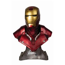 Iron Man Bust Signed by Stan Lee