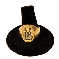 Fantastic Four Victor Von Doom Signet Ring Prop.