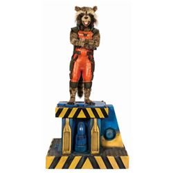 Guardians of the Galaxy Rocket Raccoon Life-Size Replica.