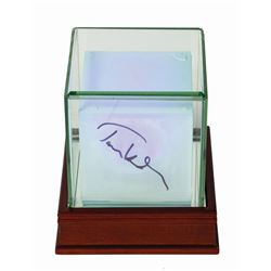 Tesseract Replica Signed by Tom Hiddleston.