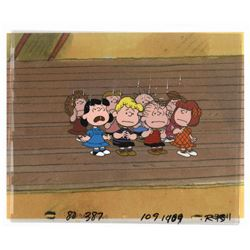 Peanuts Production Cel Setup.