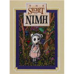 The Secret of NIMH Original Poster Concept.