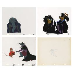 Set of (3) Production Cels from The Secret of NIMH.