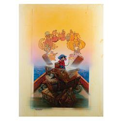 An American Tail Drew Struzan Original Artwork.