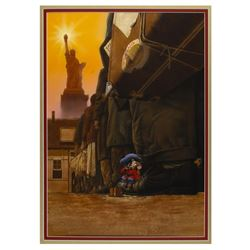 An American Tail Original Poster Painting.