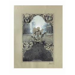 Fievel Goes West Drew Struzan Original Poster Concept.