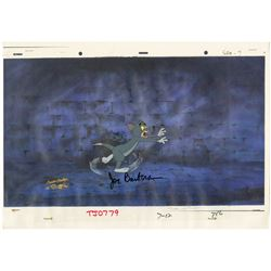 Tom and Jerry: The Movie Cel Signed by Joe Barbera.