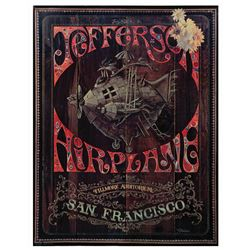 Jefferson Airplane Jim Michaelson Concert Poster.