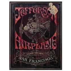 Jefferson Airplane Jim Michaelson Concert Poster.