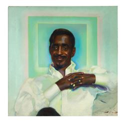 Sammy Davis Jr. Let There Be Love Album Cover Painting.