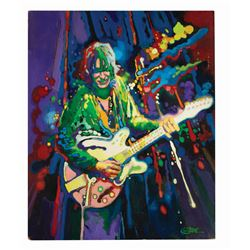 """""""Hard Rock Chord Guide"""" Alvin Lee Cover Painting."""