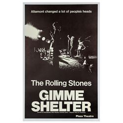 The Rolling Stones Gimme Shelter Poster.