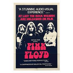 Pink Floyd: Live at Pompeii One Sheet Poster.