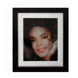 Michael Jackson Transforming Lenticular Portrait.