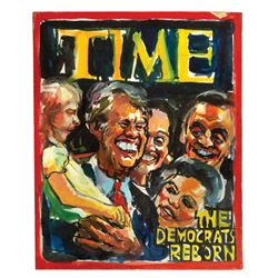 Time Magazine Parody Caricature by Peter Green.