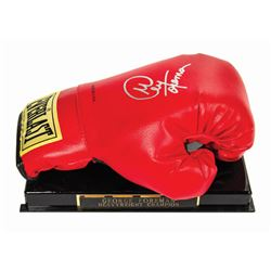 Signed George Foreman Boxing Glove.