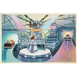 Hershey Chocolate World Tour Concept Art.