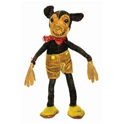 Mickey Mouse Velvet Doll.
