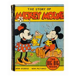 The Story of Mickey Mouse Big Big Book.