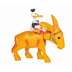 Donald Duck Donkey Jockey Wind-Up Toy.