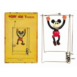 Mickey Mouse Trapeze Wind-Up Toy.