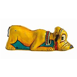 Wise Pluto Wind-Up Tin Toy.