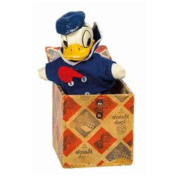 Donald Duck Jack in the Box Toy.