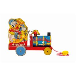 Mickey Mouse on a Tricycle Wind-Up Tin Toy.