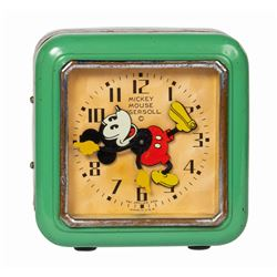 Mickey Mouse Electric Alarm Clock.