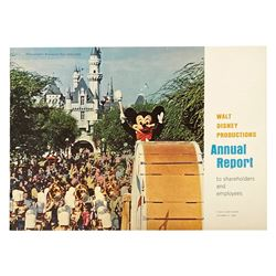 Walt Disney Productions 1964 Annual Report.