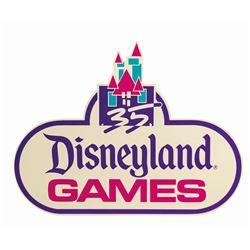 Disneyland Games 35th Anniversary Park Sign.
