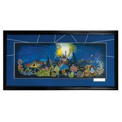 """Main Street Electrical Parade """"Farewell"""" Lithograph."""