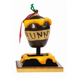 Critter Country Pooh  Hunny Pot  Holiday Ornament Prop.