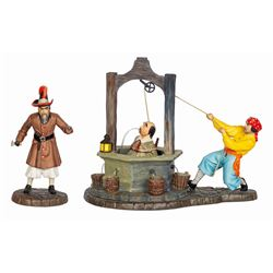 Pirates of the Caribbean WDCC Figure Set.