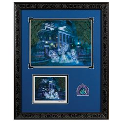 Hitchhiking Ghosts Haunted Mansion Cel, Pin, & Print.