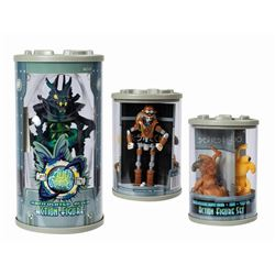 Set of (4) Alien Encounter Souvenir Toys.