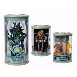Set of (4) Alien Encounter Souvenir Toys.