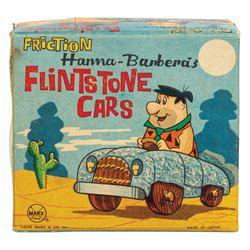 Flintstone Cars Friction Toy in Box.