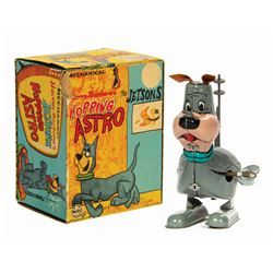 Mechanical Hopping Astro Toy in Box.