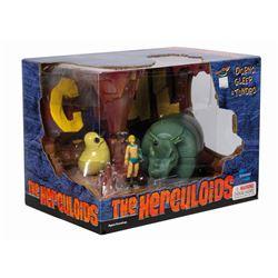 The Herculoids Dorno, Gleep, & Tundro Playset.