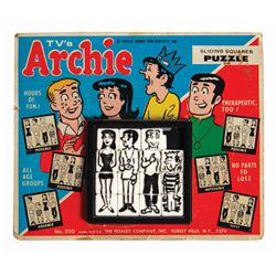 Archie Sliding Squares Puzzle Game.