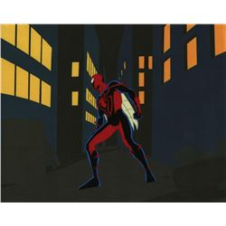 Spider-Man Unlimited Production Cel.