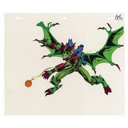Spider-Man Unlimited Green Goblin Production Cel.