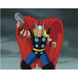 Fantastic Four Thor Production Cel and Background.