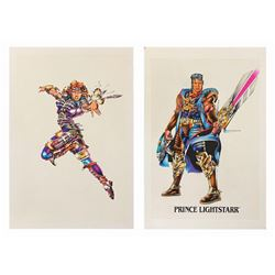 Skeleton Warriors Character Concept Artwork.