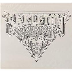 Skeleton Warriors Series Logo Artwork.