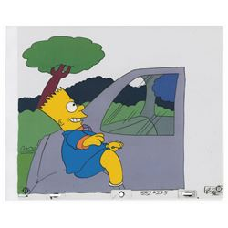 Bart Simpson Cel from Tracey Ullman Short.