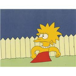 Lisa Simpson Cel from Tracey Ullman Short.