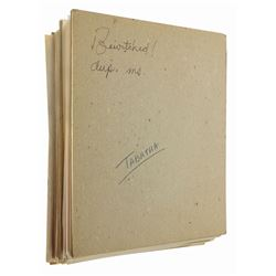 Bewitched: The Opposite Uncle Annotated Manuscript.